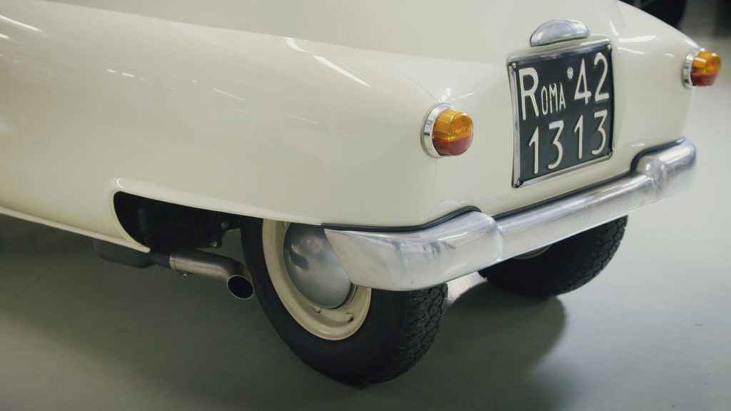 Iso Rivolta Isetta Bmw back wheel
