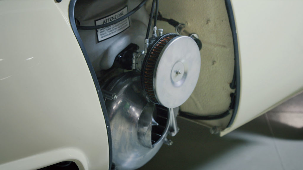 Iso Rivolta Isetta Bmw engine open detail