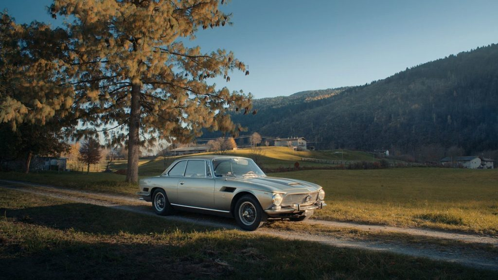 Iso Rivolta GT300 front grey