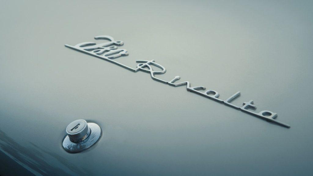 Iso Rivolta GT300 logo logotype type logotipo