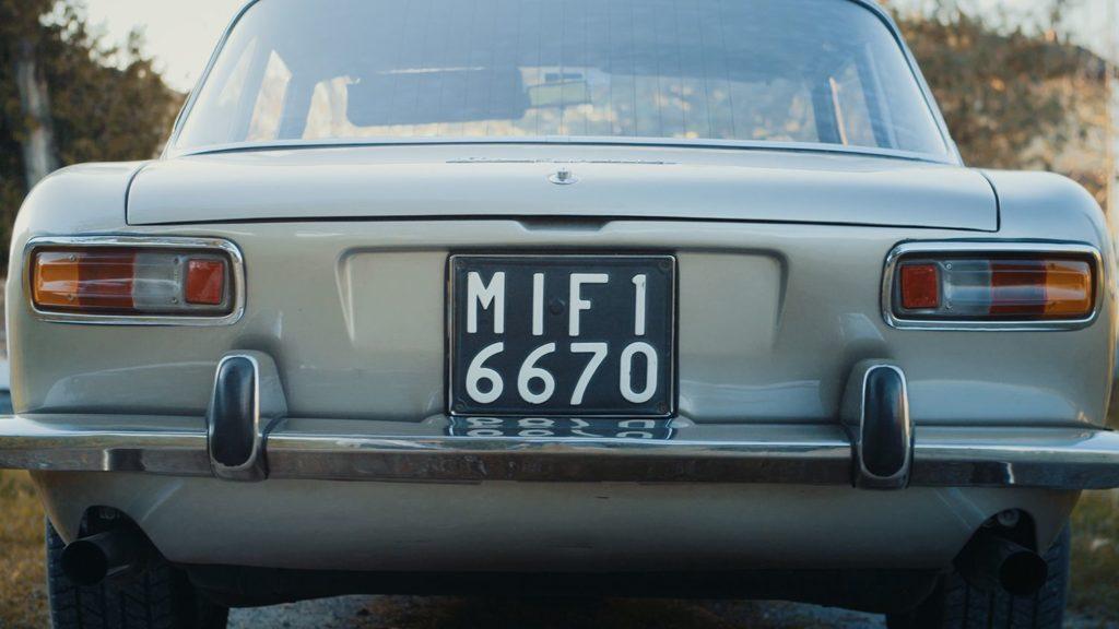 Iso Rivolta GT300 back trunk detail