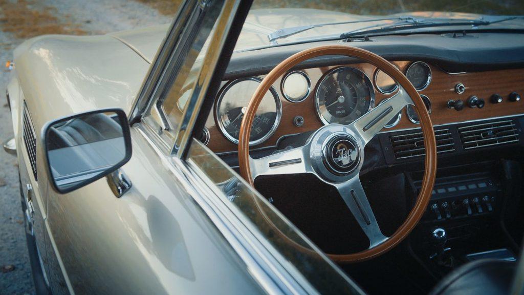 iso rivolta gt300 steering wheel inside