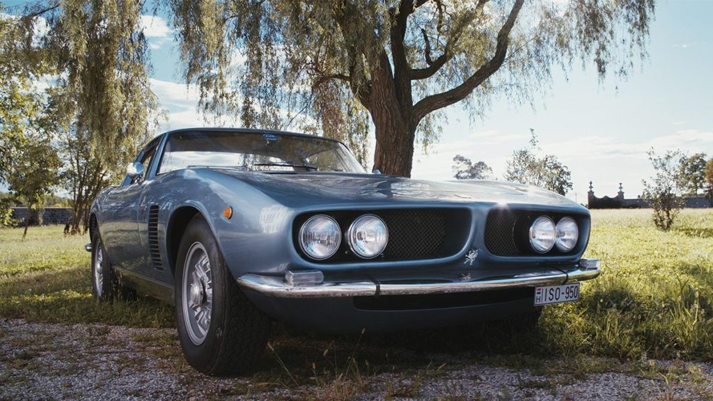 Iso Rivolta Iso Grifo front lights