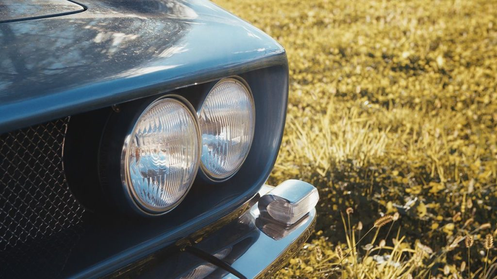 Iso Rivolta Iso Grifo lights detail front