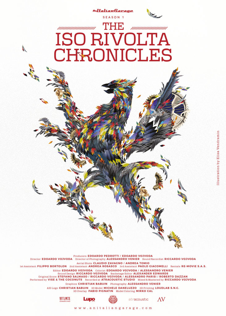 iso rivolta chronicles poster elisa vendramin artwork illustration