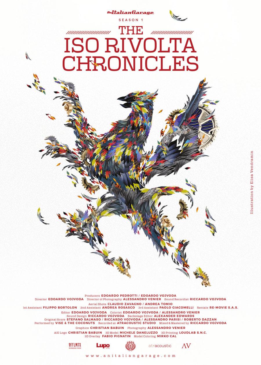 iso rivolta chronicles poster elisa vendramin artwork illustration